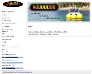 interface web de supervision